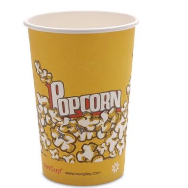Ly giấy popcorn VietCup 840ml 25 ly