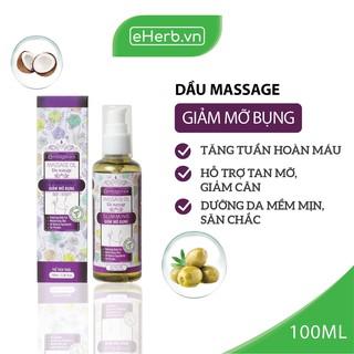 Dầu Massage Giảm Mỡ Bụng Hỗ Trợ Làm Tan Mỡ, Dưỡng Da Mềm Mịn Từ 8 Loại Dầu Thiên Nhiên MILAGANICS 100ml (Chai) thumbnail