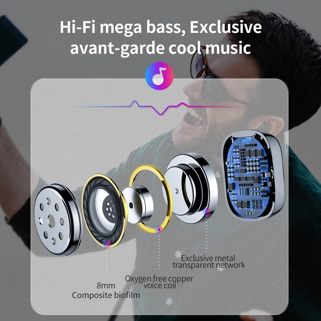 Tai nghe Bluetooth Baseus WM01 TWS Chống Ồn Bluetooth 5.0 / Baseus Encok Wireless Earphone A03 5.0 chống nước IP5