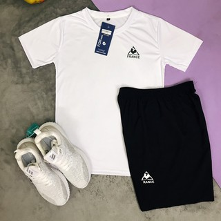 [XẢ hè]Bộ quần áo thể thao NAM hè CHẤT THUN LẠNH co giãn 2 chiều mềm mịn