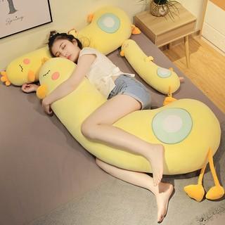Gấu bông gối ôm vịt vàng dài gối ngủ gác chân kẹp chân lớp bông tách biệt có thể tháo giặt rời kích thước từ 70cm-1m5 thumbnail