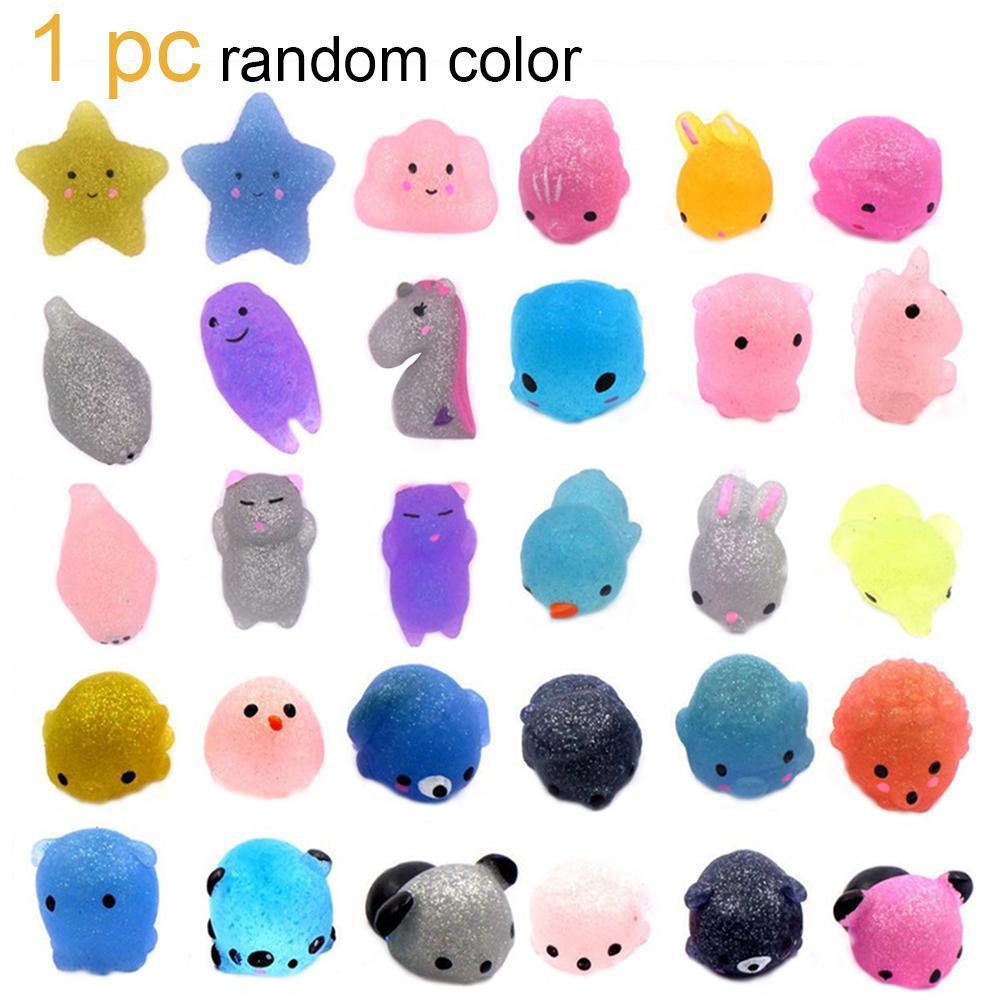 Random Animal Squishy Kawaii Mini Slow Rising Squeeze Stress Relief Hand Toys