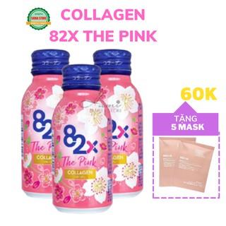 [Đẹp Da] Collagen 82x The Pink - Nước Uống Trắng Da Đẹp Da Nhật Bản- Hộp 10 lọ thumbnail