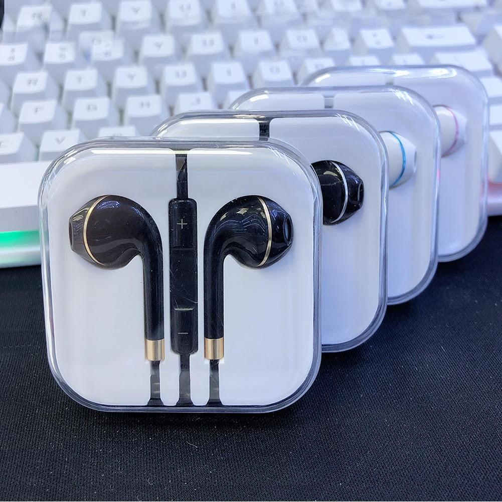 Tai nghe có dây nhét tai M2 Pro giắc 3,5mm, tai phone in ear dùng được iphone 6/6s/6Plus, Samsung oppo xiaomi android