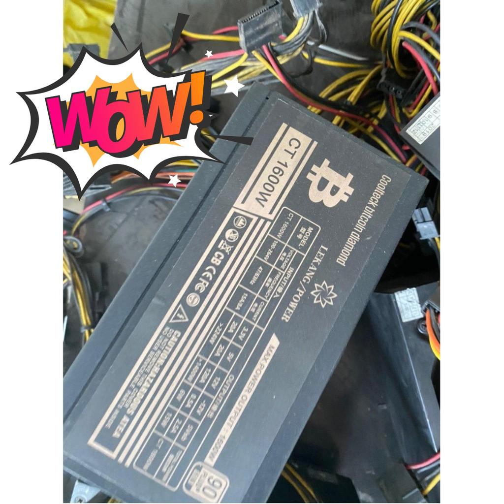 [RẼ VÔ ĐỊCH] Nguồn máy tính 1300 - 1600W Cũ các loại Siêu khỏe Bảo hành 1 Tháng