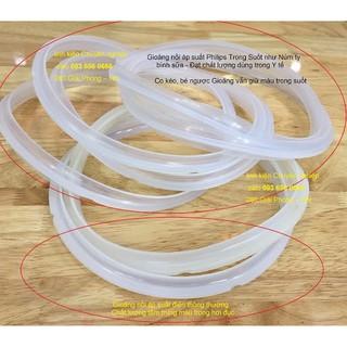 Gioăng nồi áp suất điện Philips 24cm – Gioăng cao su nồi áp suất Philips trong suốt như Núm ty bình sữa