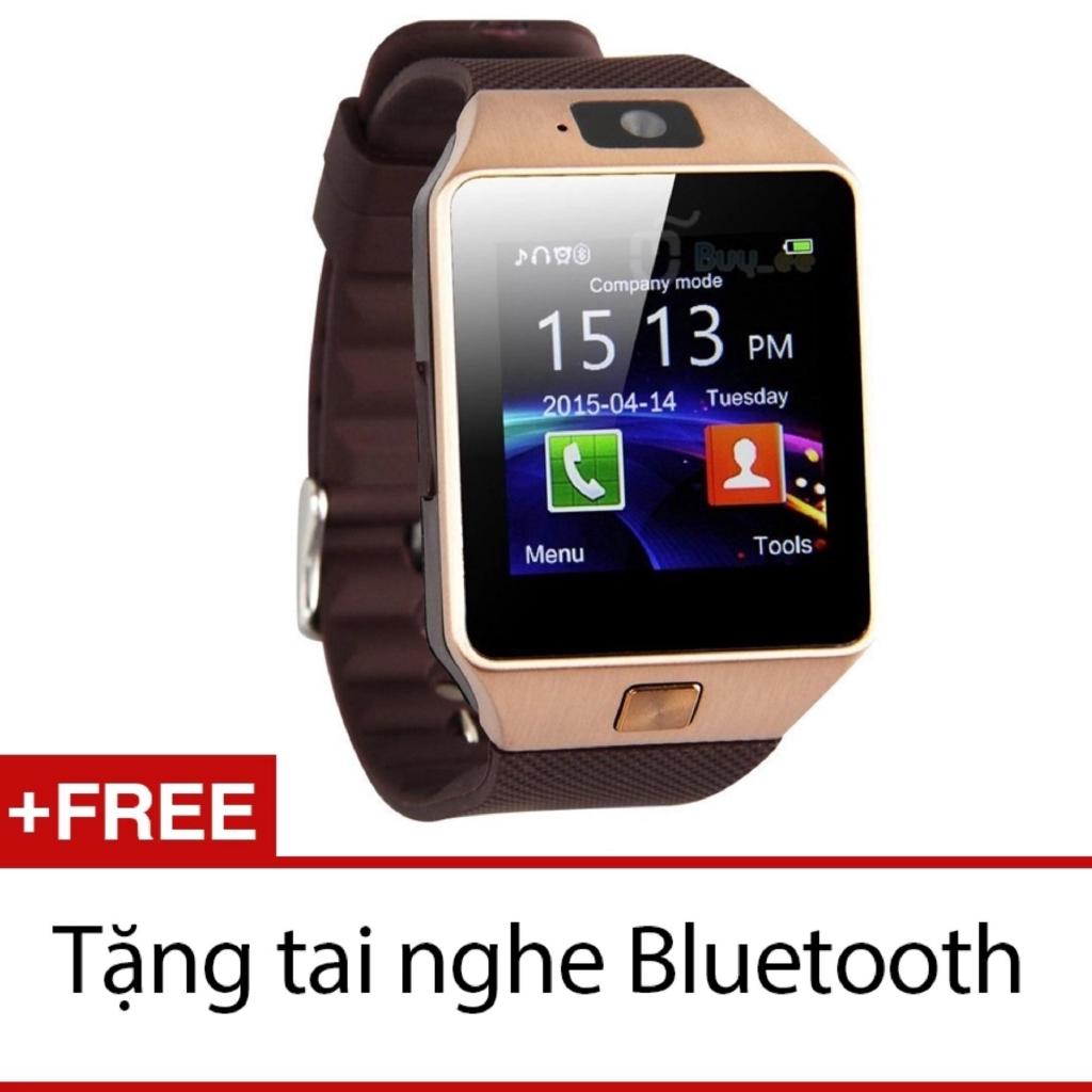 Đồng hồ thông minh Smart Watch Uwatch DZ09 (Vàng) + Tặng tai nghe Bluetooth s530 -DC2223 - 2594118 , 1318453876 , 322_1318453876 , 189000 , Dong-ho-thong-minh-Smart-Watch-Uwatch-DZ09-Vang-Tang-tai-nghe-Bluetooth-s530-DC2223-322_1318453876 , shopee.vn , Đồng hồ thông minh Smart Watch Uwatch DZ09 (Vàng) + Tặng tai nghe Bluetooth s530 -DC2223
