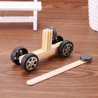 [IN STOCK/COD]DIY Inventions Magnetic Car Vehicle Pupils Technology Experiment Materials