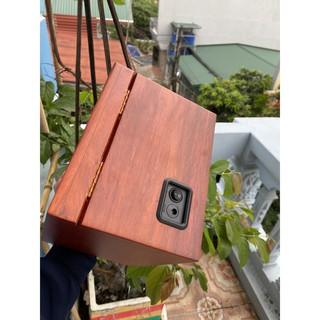Gỗ gõ đỏ, Made in Việt Nam Hộp xoay,Hộp Lắc, Hộp tích cót đồng hồ cơ Winder Watch thumbnail