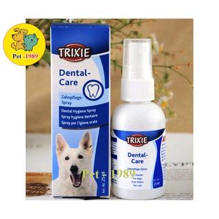 Xịt vệ sinh răng miệng TRIXIE Dental Care dành cho cún mèo Pet-1989 thumbnail