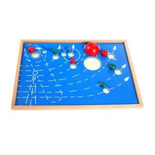 Đồ chơi gỗ ghép hình 9 hành tinh