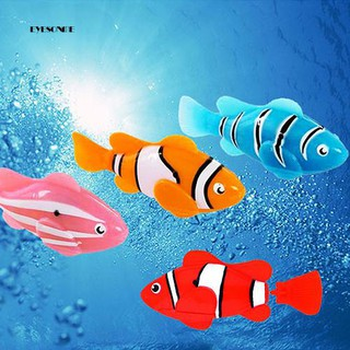 ♕Cute Electronic Pets Toy Fish Tank Robot Fish Swimming Clownfish Children Gifts