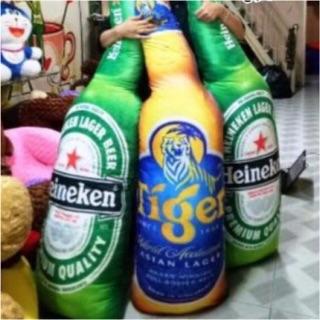 Gấu bông Gối ôm bia chai 3D khổng lồ 1M
