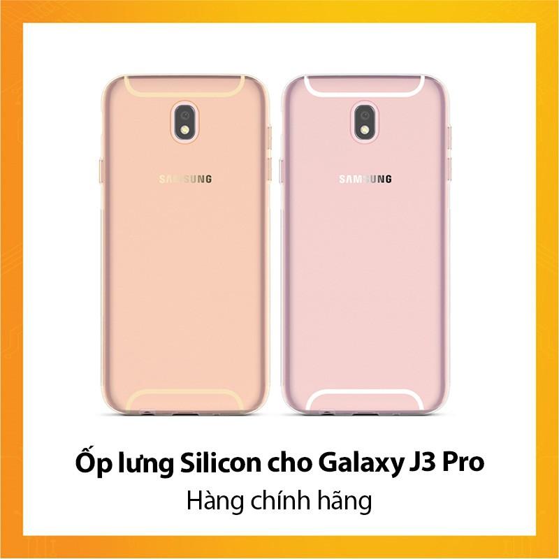 Ốp lưng Silicon cho Galaxy J3 Pro - Hàng chính hãng