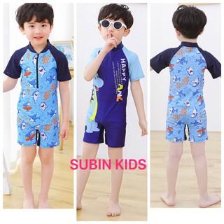(Trợ giá) bộ bơi liền thân bé trai SBBT17 sz 12-28kg đồ bơi cho bé trai đẹp (hàng có sẵn, xấu hoàn hàng) hàng QC SBBT19