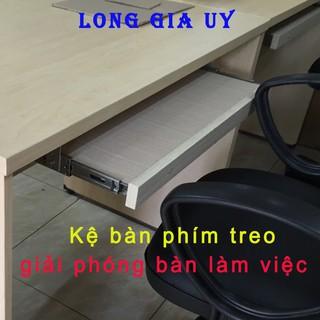 Khay bàn phím treo cực tiện giải phóng không gian bàn làm việc