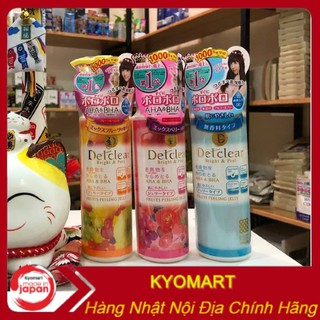 Tẩy da chết Detclear Bright & Peel 180ml nội địa Nhật thumbnail