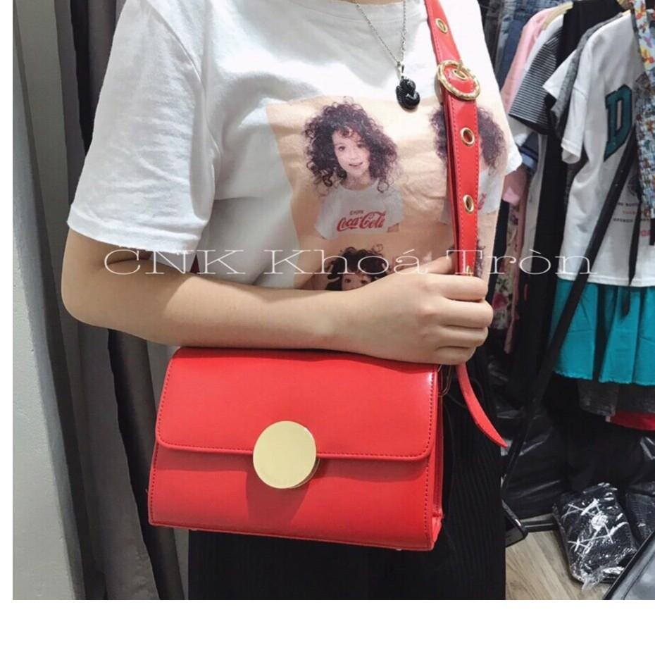 Túi đeo chéo Khóa Tròn siêu phẩm hot