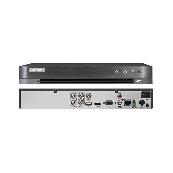 ĐÀU GHI HIKVISON 5.0MP,  Đầu ghi hình Hybrid TVI-IP 4 kênh TURBO 4.0 HIKVISION DS-7204HUHI-K1(S)
