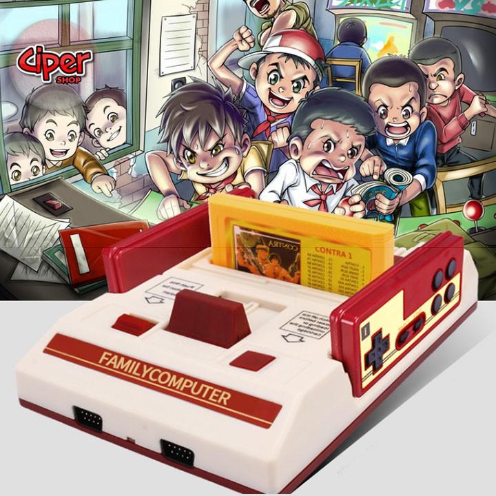 Máy chơi game điện tử 4 nút +băng 400in1