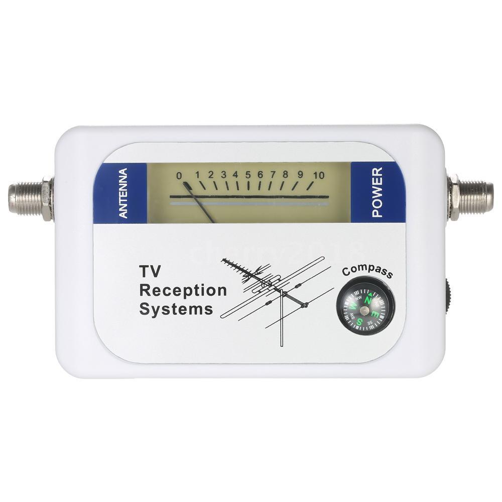 Công cụ tìm dò tín hiệu vệ tinh dùng cho TV kèm màn hình hiển thị tiện dụng