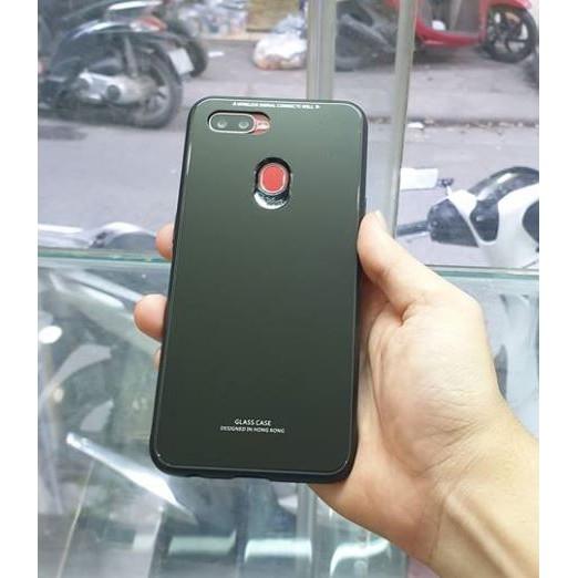 Ốp lưng Oppo F9 Thương hiệu Glass