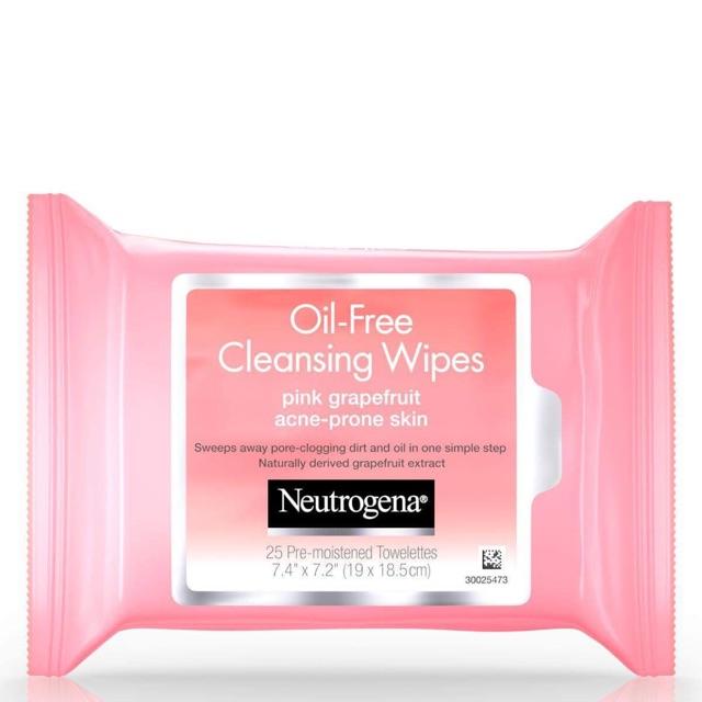 Khăn giấy ướt tẩy trang Neutrogena Makeup Remover Oil Free Pink Grapefruit - 3398340 , 1246489233 , 322_1246489233 , 150000 , Khan-giay-uot-tay-trang-Neutrogena-Makeup-Remover-Oil-Free-Pink-Grapefruit-322_1246489233 , shopee.vn , Khăn giấy ướt tẩy trang Neutrogena Makeup Remover Oil Free Pink Grapefruit