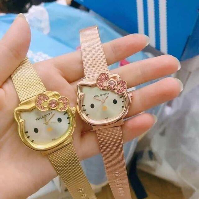 Đồng hồ kitty cho bé 90k/1 cái