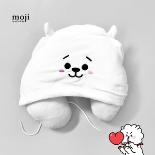Gấu bông chữ U có mũ idol Jin RJ BT21 BTS unoff – Mix