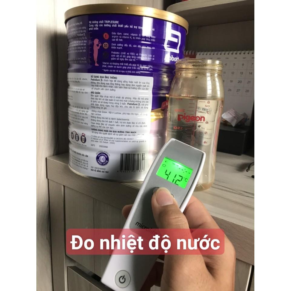 Nhiệt Kế Điện Tử Hồng Ngoại Microlife FR1MF1 Thụy Sĩ - Bảo Hành Chính Hãng 2 Năm, Lỗi Do NSX 1 đổi 1