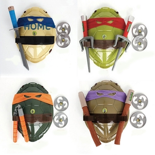 Tsuc Teenage Mutant Ninja Turtles Weapons Toys TMNT Turtles Armor Shell Toy Movie Toys Kids Brinquedos Birthday Gifts @vn