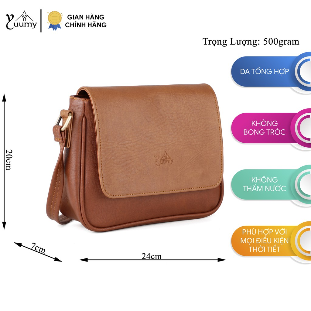 Túi đeo chéo thời trang nữ YUUMY YN34 nhiều màu