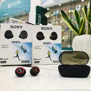 Tai nghe Bluetooth Đen Sony sport TWS-D76 Rất ấm Bass-treble rõ ràng,Tai Nghe Sony Hàng Chính Hãng- Tai Nghe Không Dây