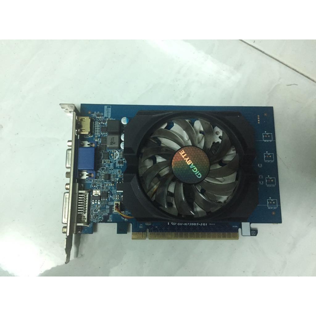 Card màn hình GT730 2G DDR5 Gigabyte,Zotac....