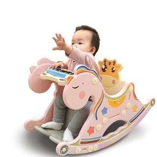 [Tặng đàn piano] Ghế ngựa bập bênh size lớn