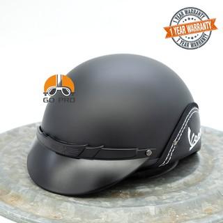 Yêu Thích[CHÍNH HÃNG] Mũ Bảo Hiểm An Thịnh Vespa Không Kính AT49