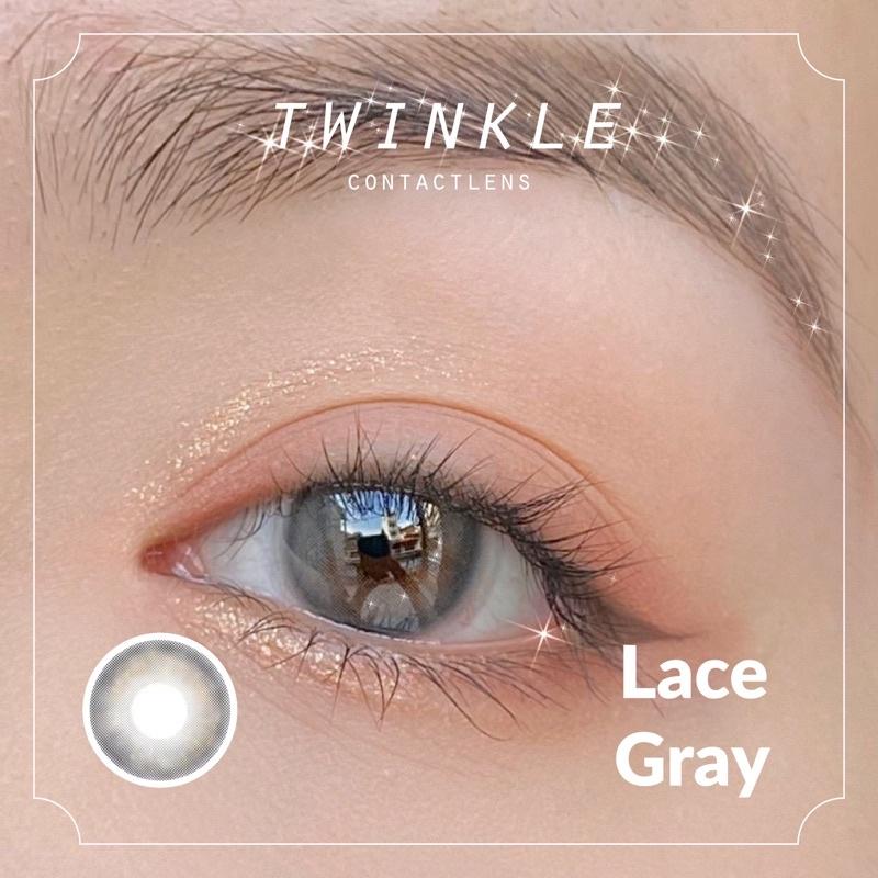 lens mắt xám xanh trong tự nhiên Lace Gray Lens Twinkle