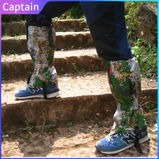 Outdoor Camouflage Gaiters Mountaineering Skiing Foot Cover Waterproof Anti-Mosquito Shoe Cover At8902 Captain outdoor