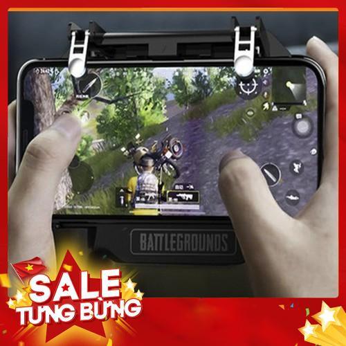 tay cầm chơi game pubg mobile, free fire, liên quân + quạt tản nhiệt cho điện thoại – Hàng nhập khẩu