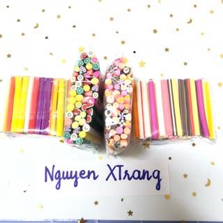 Combo 50 – 100 thanh nail ( trái cây / bánh kẹo )