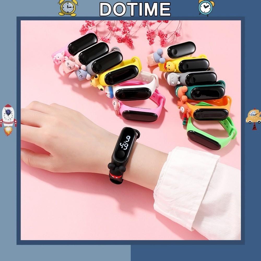 Đồng hồ trẻ em Dotime đồng hồ led đeo tay nhân vật hoạt hình đáng yêu ZO109