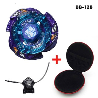 Metal Beyblade Burst 4D BB128 OMEGA DRAGONIS with Launcher Case Spinning Top Toy Gift for kids