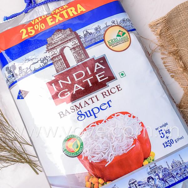 Gạo Ấn Độ Basmati India Gate 5kg