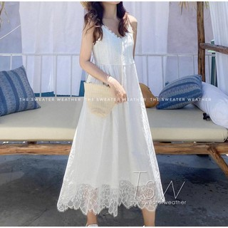 Đầm Nữ Váy Maxi Thô Kẻ Pha Thô Hàng Cao Cấp Chân Váy Pha Ren Hàng 2 Lớp Trên Xuống Size S,M Có Khoá Đẹp