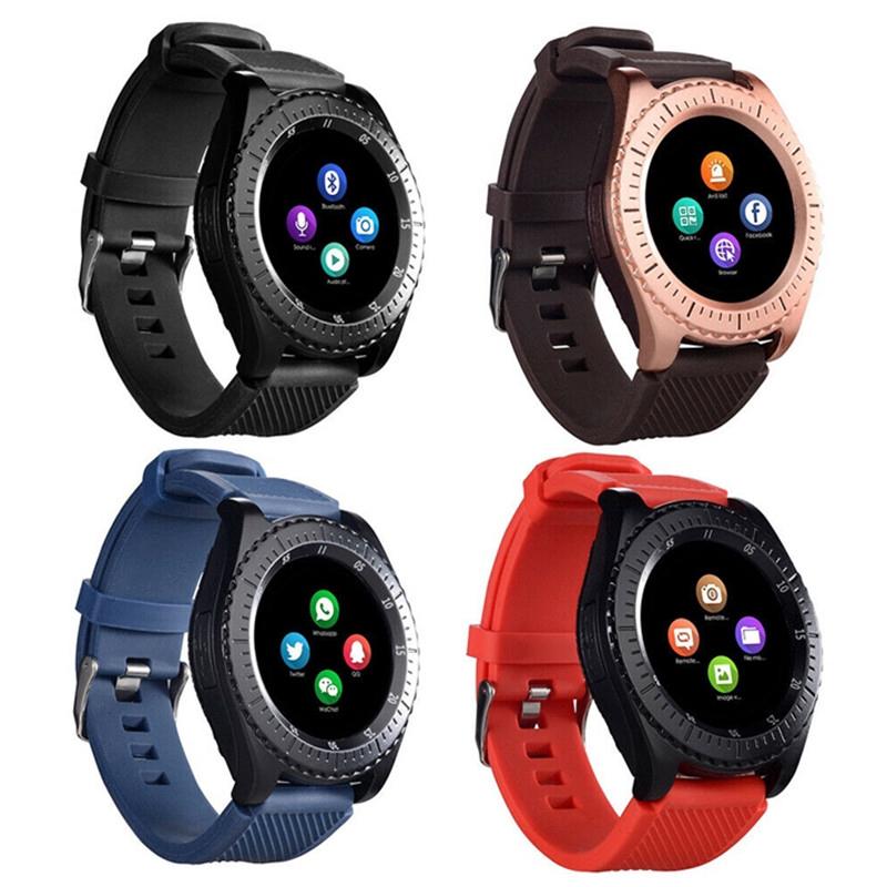 Bộ đồng hồ thông minh kết nối bluetooth V3.0 hỗ trợ sim và thẻ nhớ TF tích hợp camera 1.3MP
