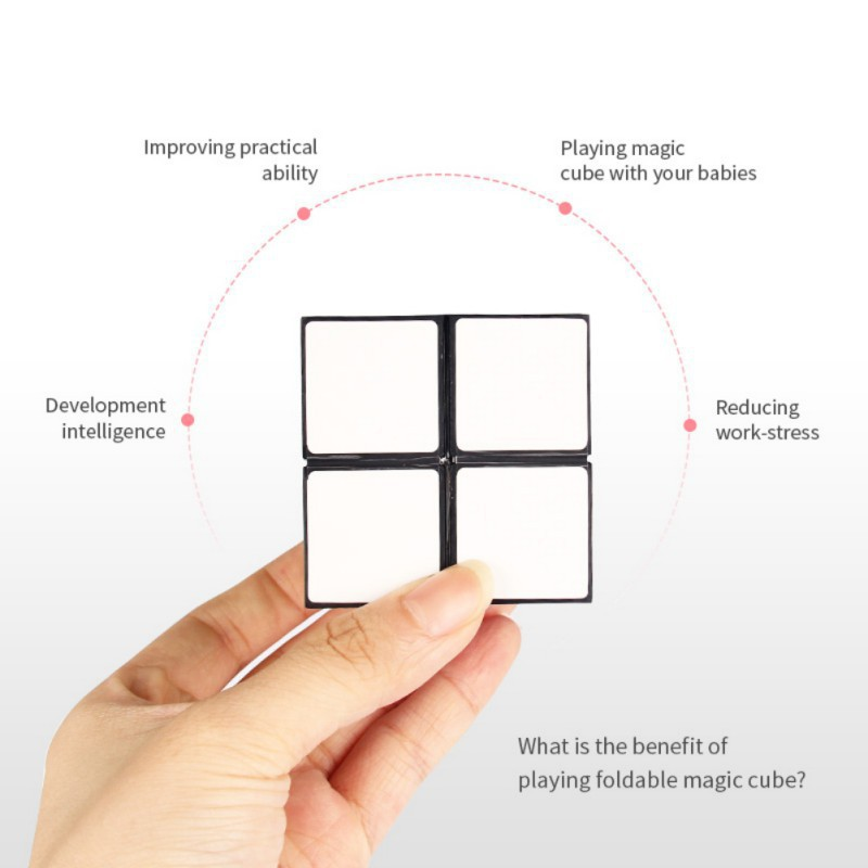 BOBORA ABS Magic Cube Combo Infinity Cube For Stress Relief EDC Magic Cube