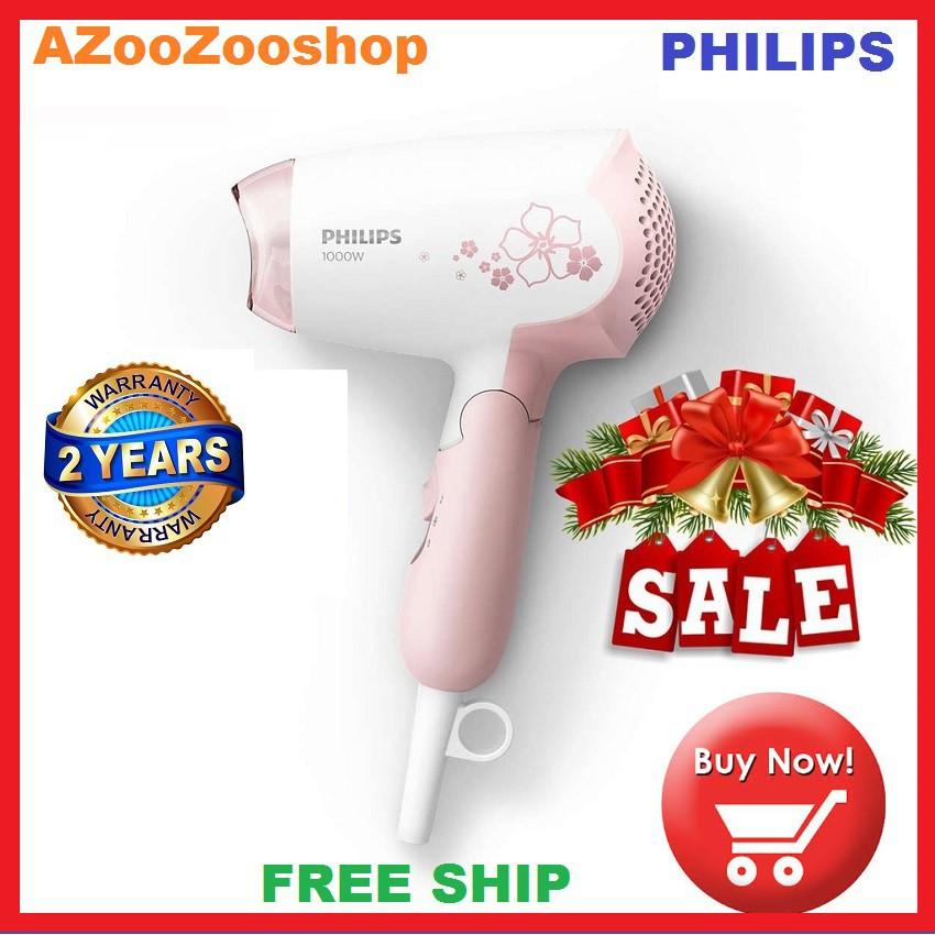 Máy Sấy Tóc Philips HP8108 - HP8108, Hàng Công Ty, 1000W, Trắng cánh sen