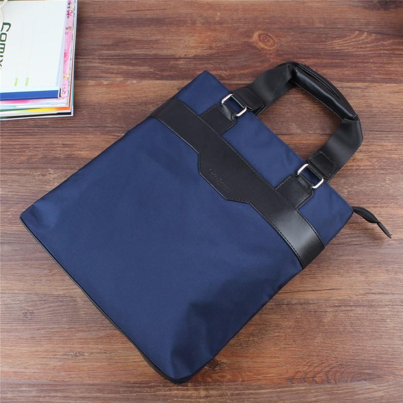 กระเป๋าแฟ้มแนวตั้งรุ่นแนวตั้งกระเป๋าเอกสารแบบพกพากระเป๋าประชุมแฟชั่นกระเป๋าเอกสา