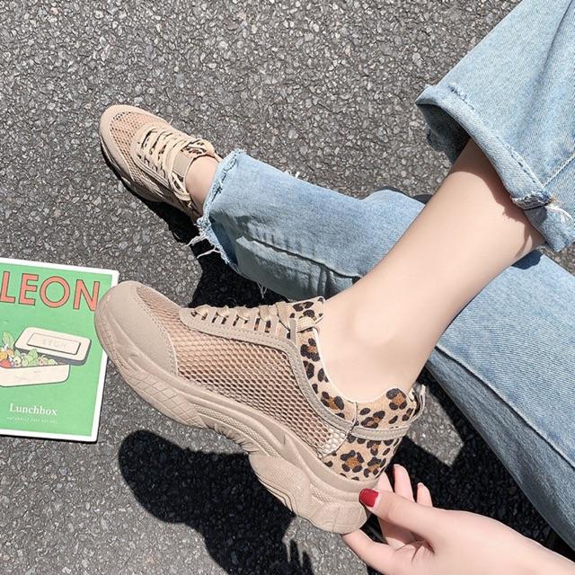 Giày thể thao nữ vải lưới đế mềm đi cực thoáng êm chân - MPS295