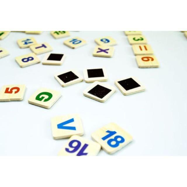 Bảng ghép nam châm có số và chữ HOT